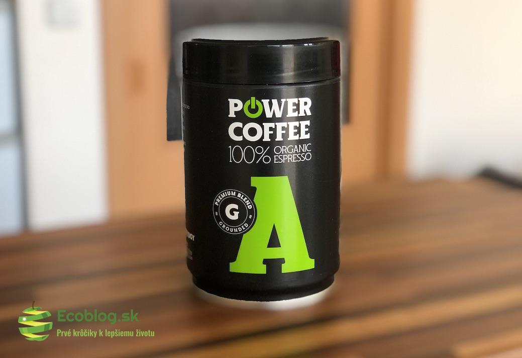 ecoblog powerlogy coffee organic beans premium blend grounded