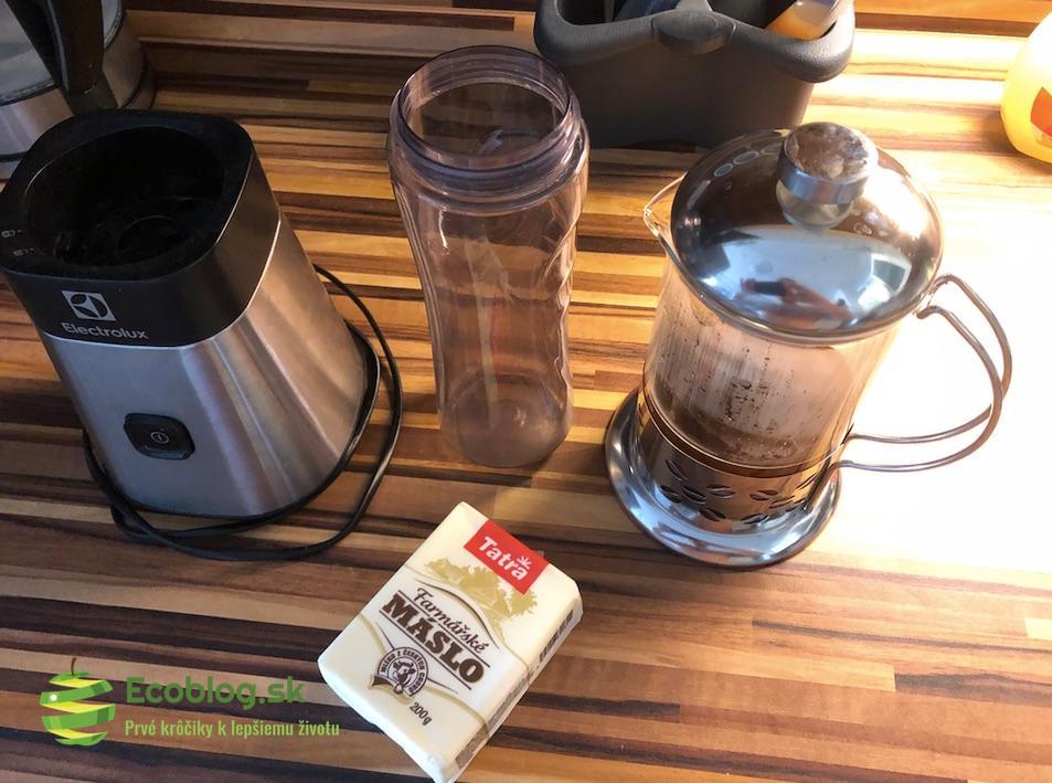 ecoblog sk gourmet kava priprava bulletproof coffee 12