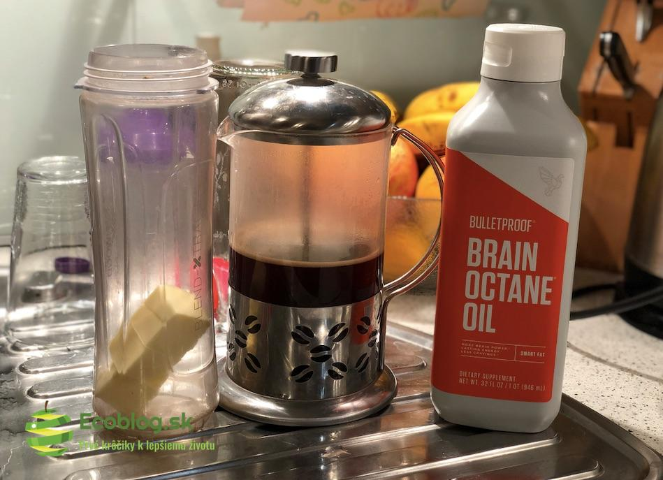 Bulletproof káva: Krok za krokom [+ RECEPT]