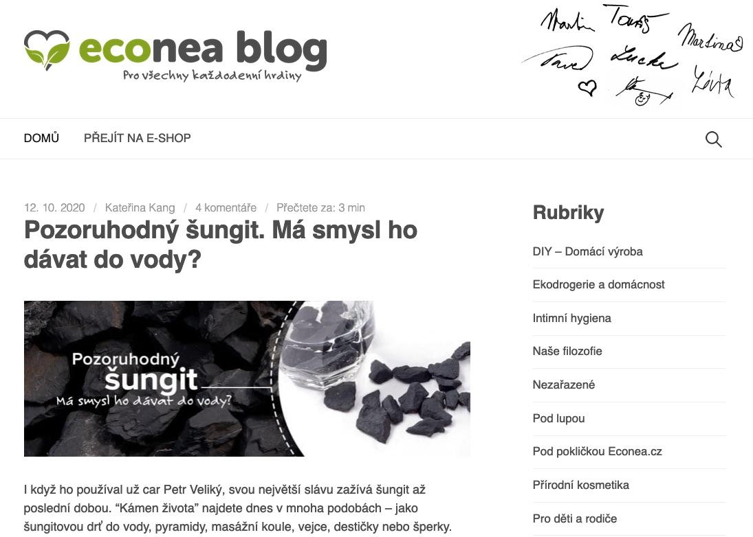 ecoblog econea recenze zkusenost 3