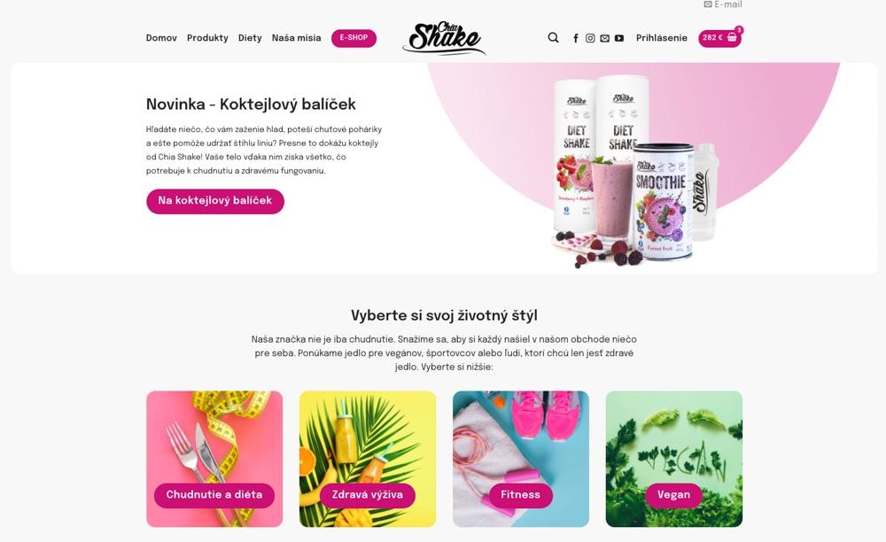 ecoblog sk chia shake homepage