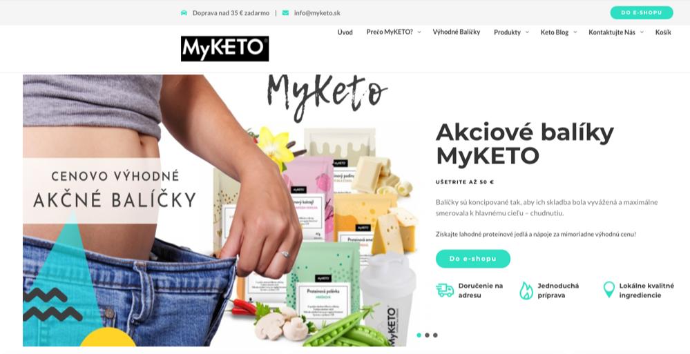 myketo homepage