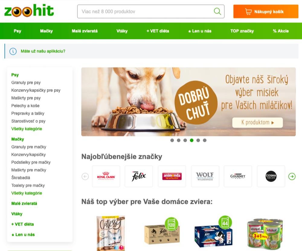 ecoblog sk zoohit homepage