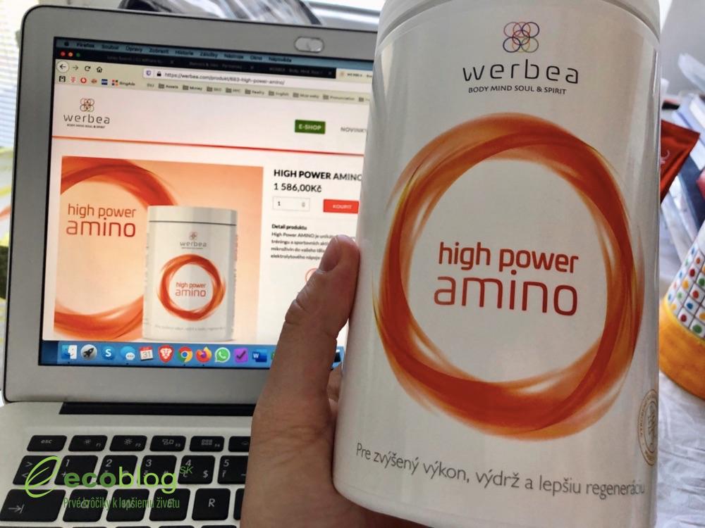 ecoblog werbea high power amino